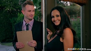 MILF Ava Addams cheats on her retrench with a young pollster