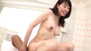 Japanese mature gets her hands on a fit dong for her sexual needs