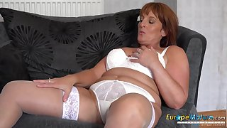 Solo mature masturbation with using of sex toys with huge compilaton